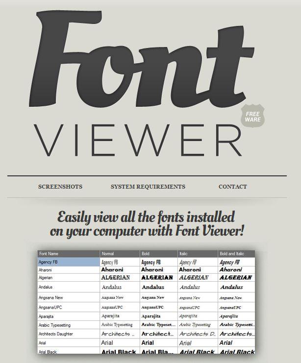 Fonts-FontViewer
