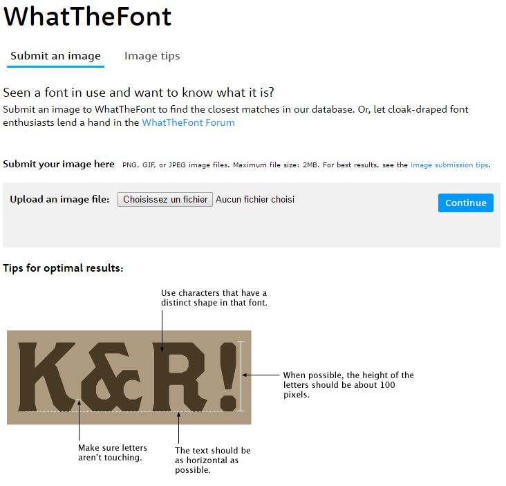 Fonts-WhatTheFont