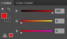 Color P1 - RGB Red