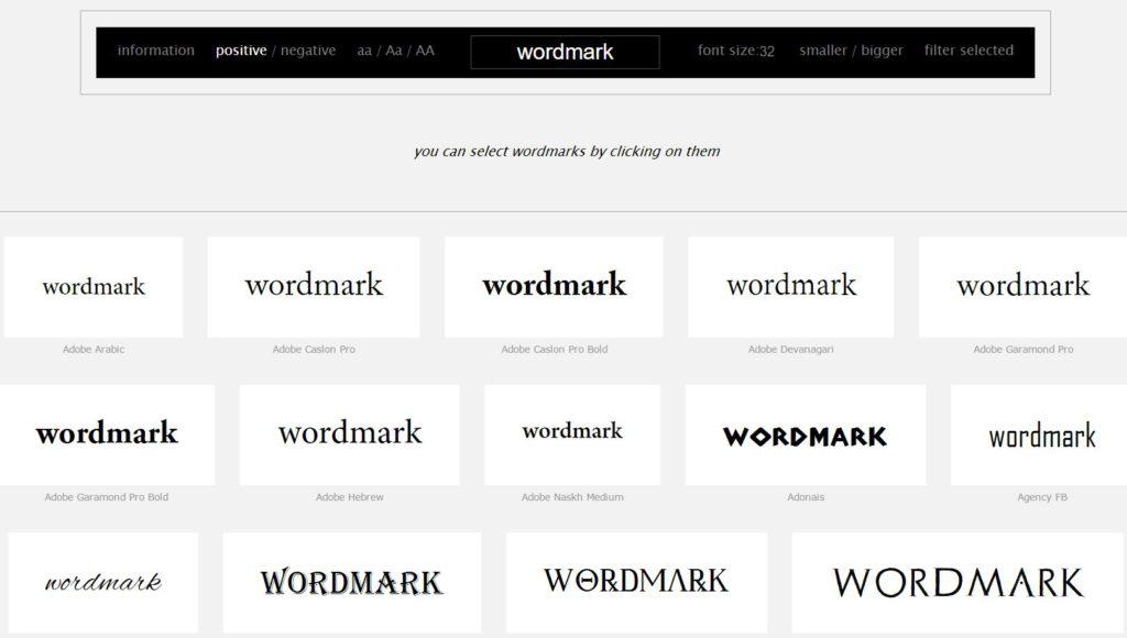 Fonts-Wordmark