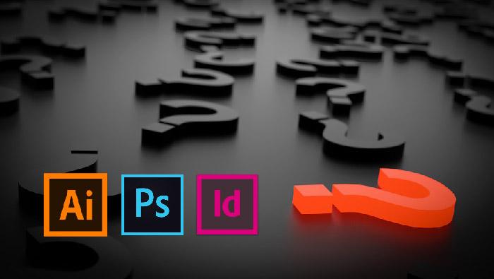 When you should use Photoshop Illustrator Indesign